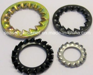 Lock Washer / Tooth Washer / Serrated Washer (DIN6798A, J) pictures & photos