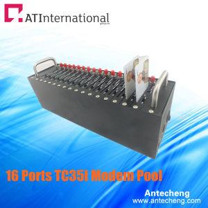 16 Ports TC35I Industrail GSM/GPRS USB Modem Pool Bulk SMS MMS