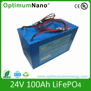 24V100ah Lithium Battery Pack for E-Bike with PCM and Charger pictures & photos