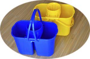 Twin Sieve Mop Bucket (YYBT-001) pictures & photos