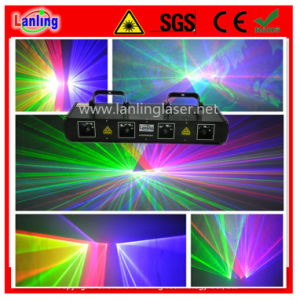 Rgbv Four Tunnel Laser Show Lighting pictures & photos