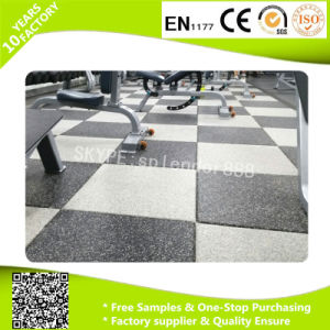 Gym Flooring Rubber Floor Tiles pictures & photos
