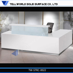 Customized Solid Surface Furniture Reception Furniture Reception Desks Design pictures & photos