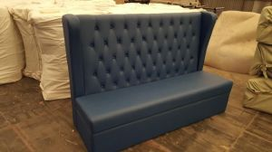 Restaurant Button Tufted Leather Customized Luxury Bar Club Chesterfield Sofas for Sale pictures & photos