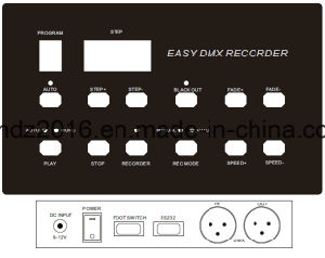 DMX Recoder; DMX Copier; DMX Player pictures & photos