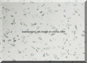 China Single Color Artificial Quartz Stone for Countertops pictures & photos