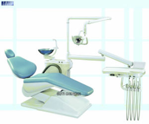 Light Blue Economy Dental Chair Unit for Sale