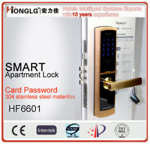 Pure Mechanical Mortise Card Reader Digital Locksmith (HFP6601) pictures & photos