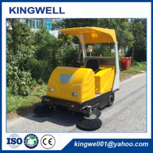 Ce Approved Electric Sweeper Road Sweeper Machine with Charger (KW-1760C) pictures & photos