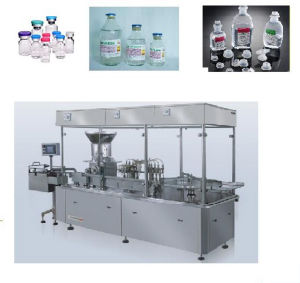 Vitaminas Solution Filling, Rubber Pluging and Capping Machine pictures & photos