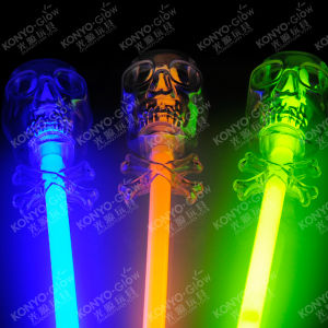 Hallween Toys Glow Skull Stick pictures & photos