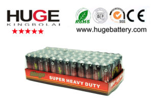 1.5V AA Size (R6 UM-3) Carbon Zinc PVC and Foil Jacket Battery pictures & photos