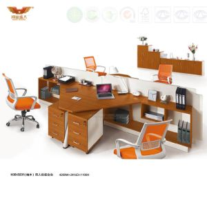 Modern Office Furniture 4 Person Seats Modular Workstation (H30-0231) pictures & photos