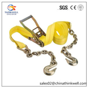Chain End Grab Hook Ratchet Tie Down Strap pictures & photos