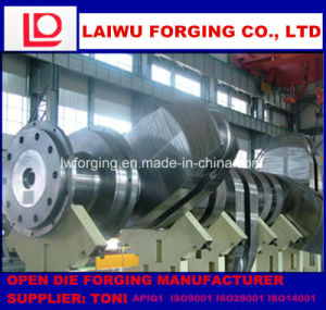 Forged Crankshaft Free Forging Process Manufacturer pictures & photos