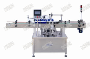 Orientation Wrap- Around Labeling Machine with Turn-Table with Re-Orientation pictures & photos