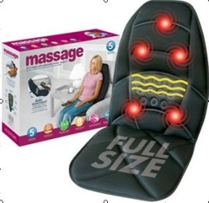 heating and vibration massage car seat