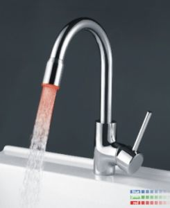 LED Kitchen Sink Mixer Tap