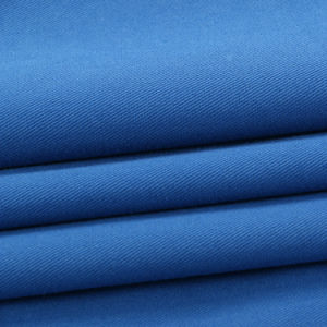 No Deformation Comfortable Cotton Stretch Polyester Fabrics Dyed Poplin pictures & photos
