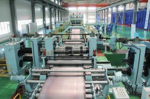 Thin Plate Slitting and Cut to Length Recoiling Line pictures & photos