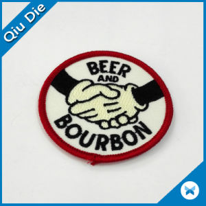 Eco-Friendly Garment Accessories Woven Label Badge Embroidery Patch pictures & photos