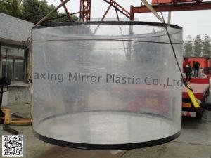 Acrylic Cylindrical Aquarium Mr009 pictures & photos
