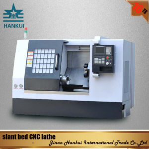 Full Enclosed Cover Slant Bed CNC Lathe (CK-80L) pictures & photos