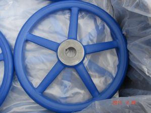 Sanding Casting CNC Hand Wheel pictures & photos
