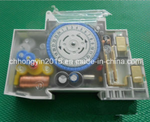 Sul160A CE Approved DIN Rail 16A 24 Hours Timer with Battery Time Switch pictures & photos