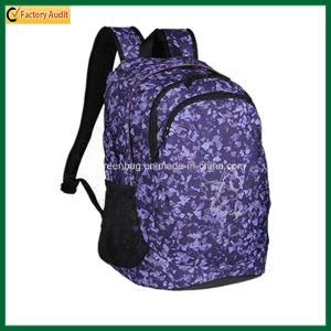 Hiking Printing Backpack, Polyester Sport Bags (TP-BP083) pictures & photos