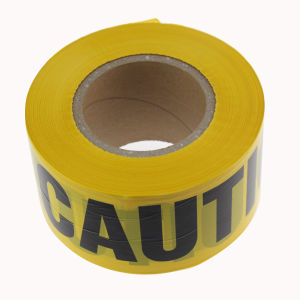Non Adhesive PE Warning Tape Caution and Danger Printing pictures & photos