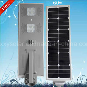 60W Integrated LED Solar Street Light with High Brightness pictures & photos