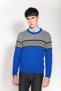 Winter Round Neck Knitting Pullover Sweater for Men pictures & photos