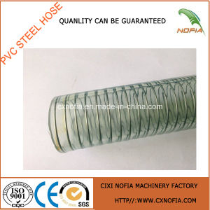 Good Steel Wire Braided PVC Hose pictures & photos