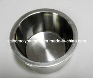 99.95% High Density and Temperature Polished Sintered Sapphire Crystal Tungsten Crucible Price pictures & photos