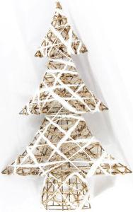 "Tabletop Christmas Decoration White Tree (13*20"")"