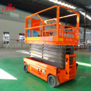 Indoor Man Lift Manual Man Lift for Sale pictures & photos