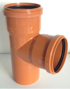 PVC-U Pipe &Fittings for Water Drainage Tee with Socket (C87) pictures & photos