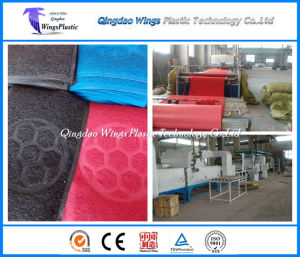 PVC Cushion Mat Roll Production Line for Sale in Qingdao China pictures & photos