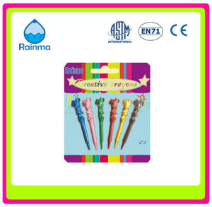 3D Animal Shaped Plastic Wax Crayons for Kids pictures & photos