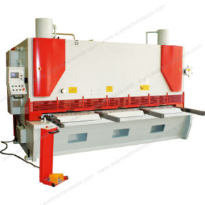 Nc Hydraulic Swing Beam Guillotine Shearing Machine (6X2000mm) pictures & photos