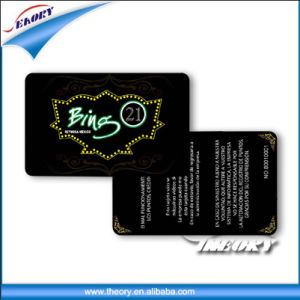 Cr80 Plastic VIP PVC Material Membership Card with Barcode pictures & photos
