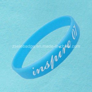 Sky Blue Silicone Bracelets (Ele-SR022) pictures & photos