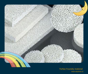 Zirconia Foam Ceramic Filter for Steel Fluid pictures & photos