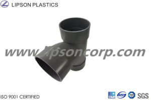 Lipson Plastic Tee PVC Pipes Branch Tee Fittings pictures & photos