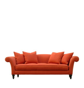 Orange Fabric Color Sofa for Hotel (NL-6625) pictures & photos