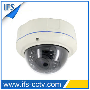 Auto-Iris IR Metal Vandal Proof Color Dome Camera (IDC-568H) pictures & photos