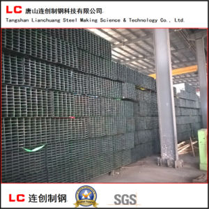 100mmx50mm Hot Rolled Low Carbon Ms Welded Steel Square Pipe pictures & photos