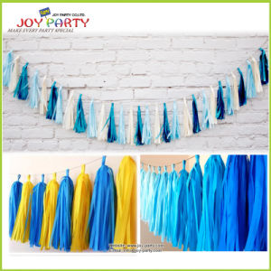 Tissue Paper Tassel for Hotel Shop Festival Decoration pictures & photos
