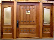 Enterance Solid Wooden Door for Apartment pictures & photos
